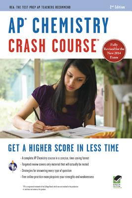 AP Chemistry Crash Course By Dingle, Adrian/ Wood, Derrick C. (EDT)